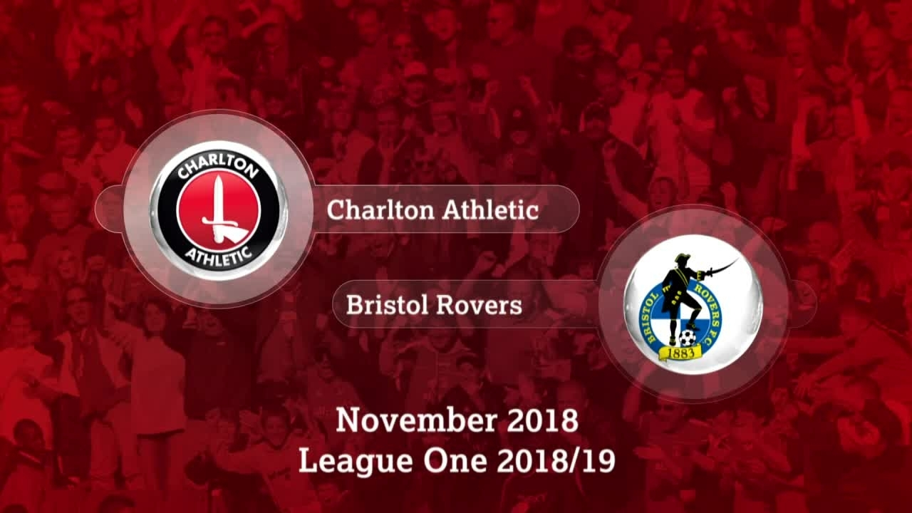 GOALS | Charlton 3 Bristol Rovers 1 (November 2018)