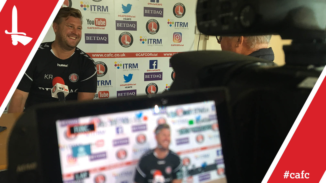FREEVIEW | Karl Robinson looks ahead to Charlton's opening day of the season