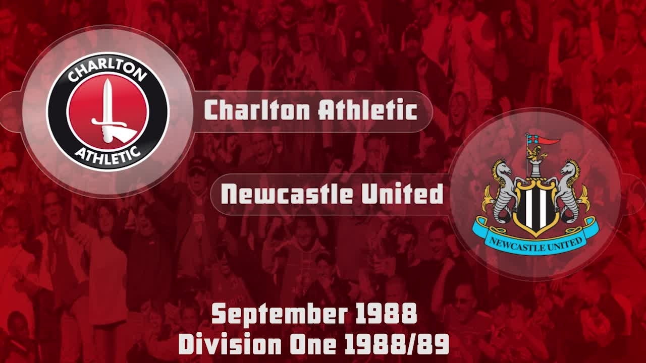05 HIGHLIGHTS | Charlton 2 Newcastle 2 (Sept 1988)