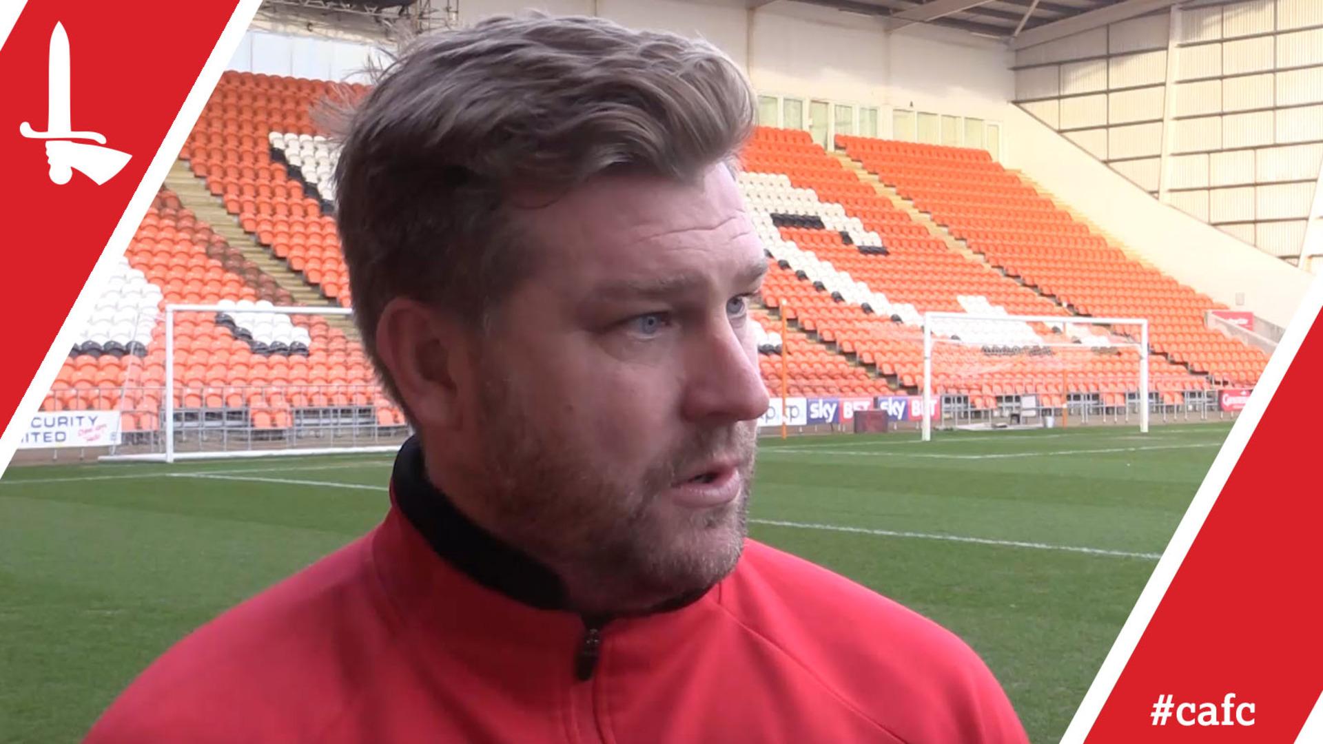 Karl Robinson on Blackpool postponement