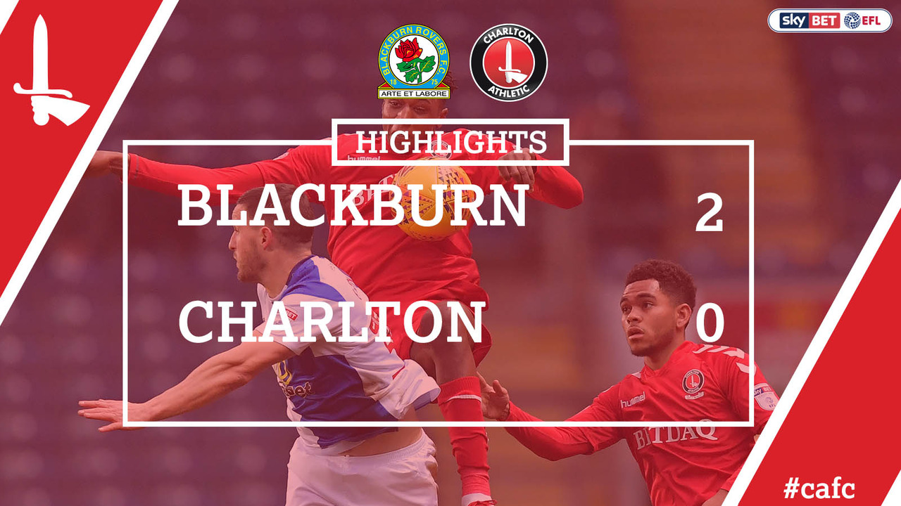 29 HIGHLIGHTS | Blackburn 2 Charlton 0 (Dec 2017)