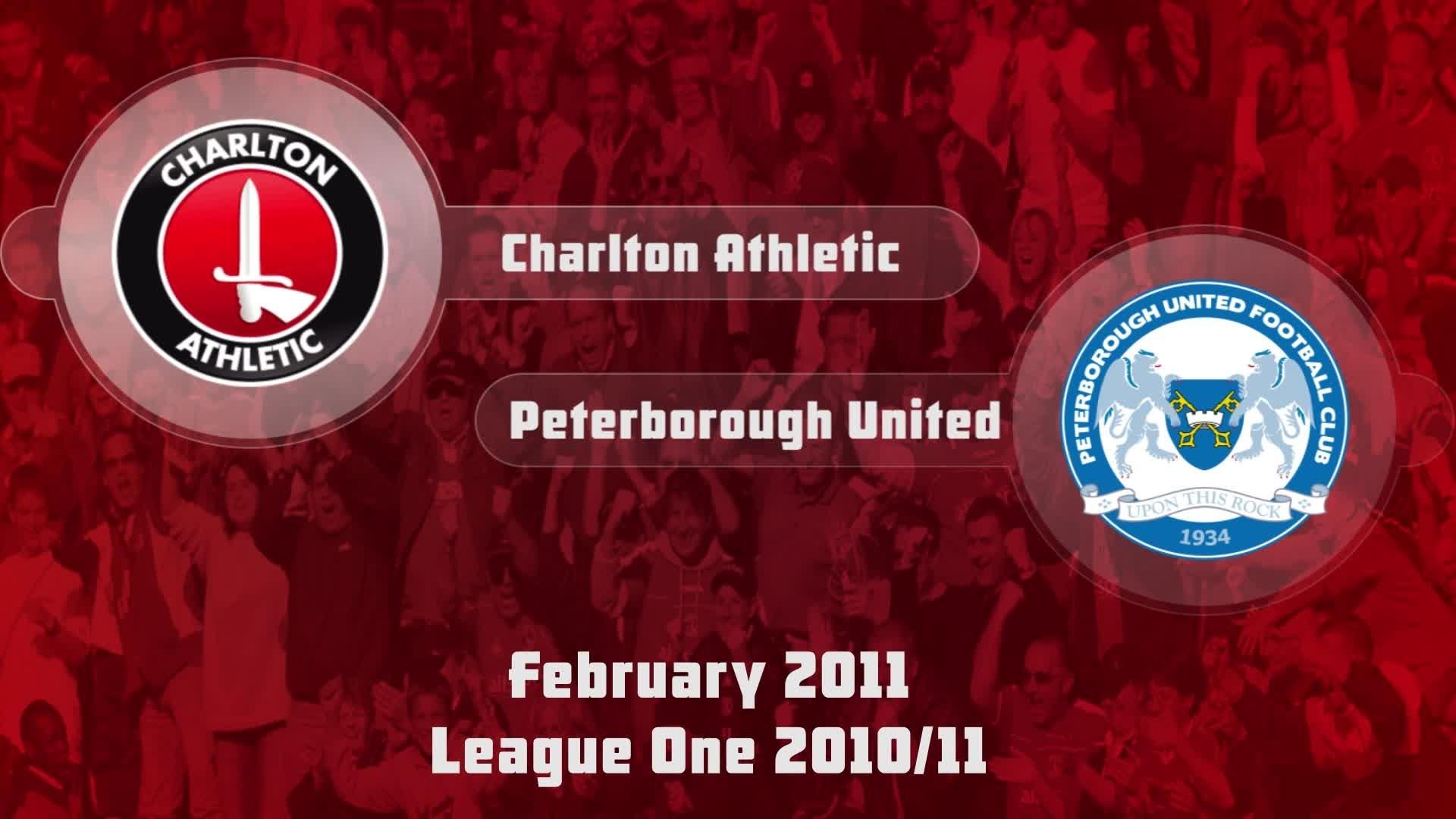 37 HIGHLIGHTS | Charlton 3 Peterborough 2 (Feb 2011)