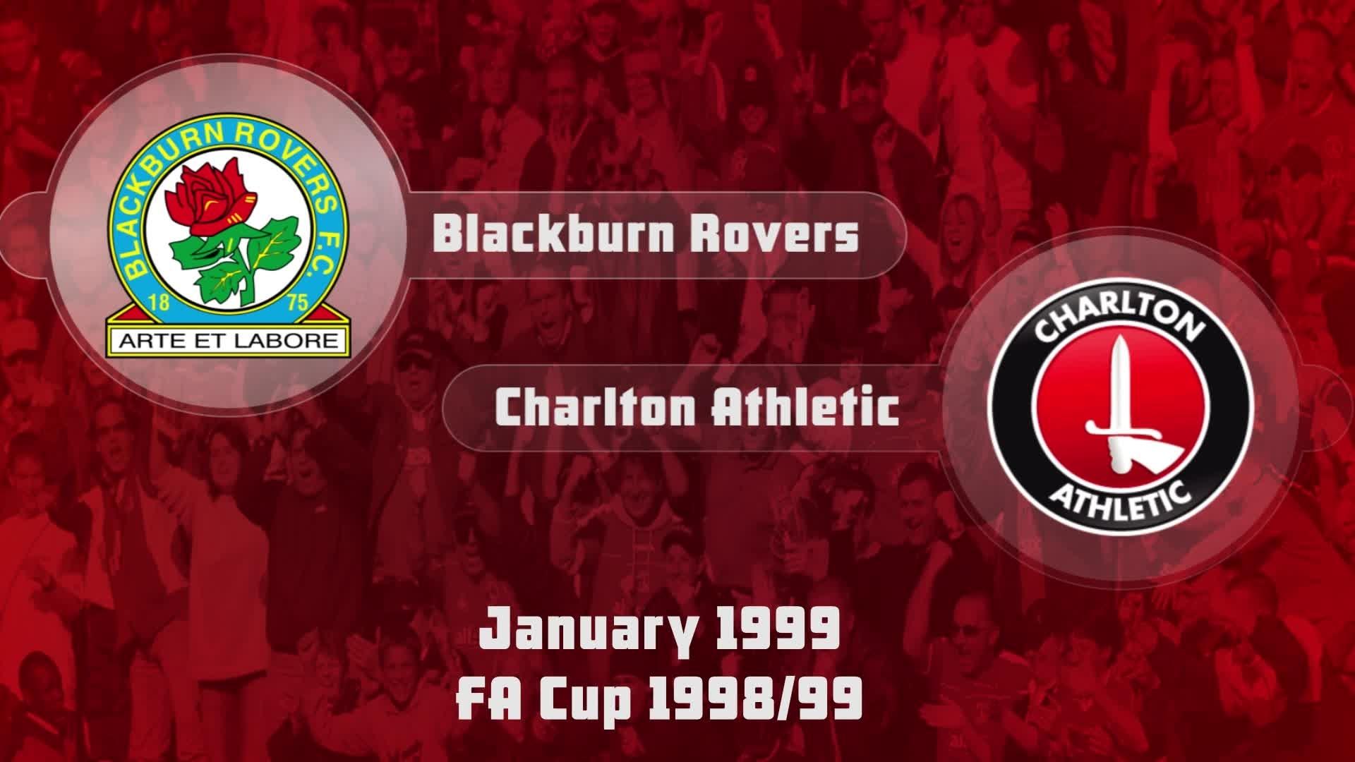 24 HIGHLIGHTS | Blackburn Rovers 2 Charlton 0 (FA Cup Jan 1999)