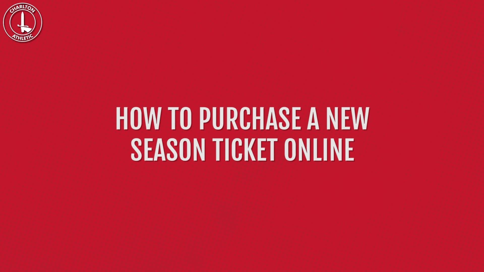 How to purchase your 2019/20 season ticket online