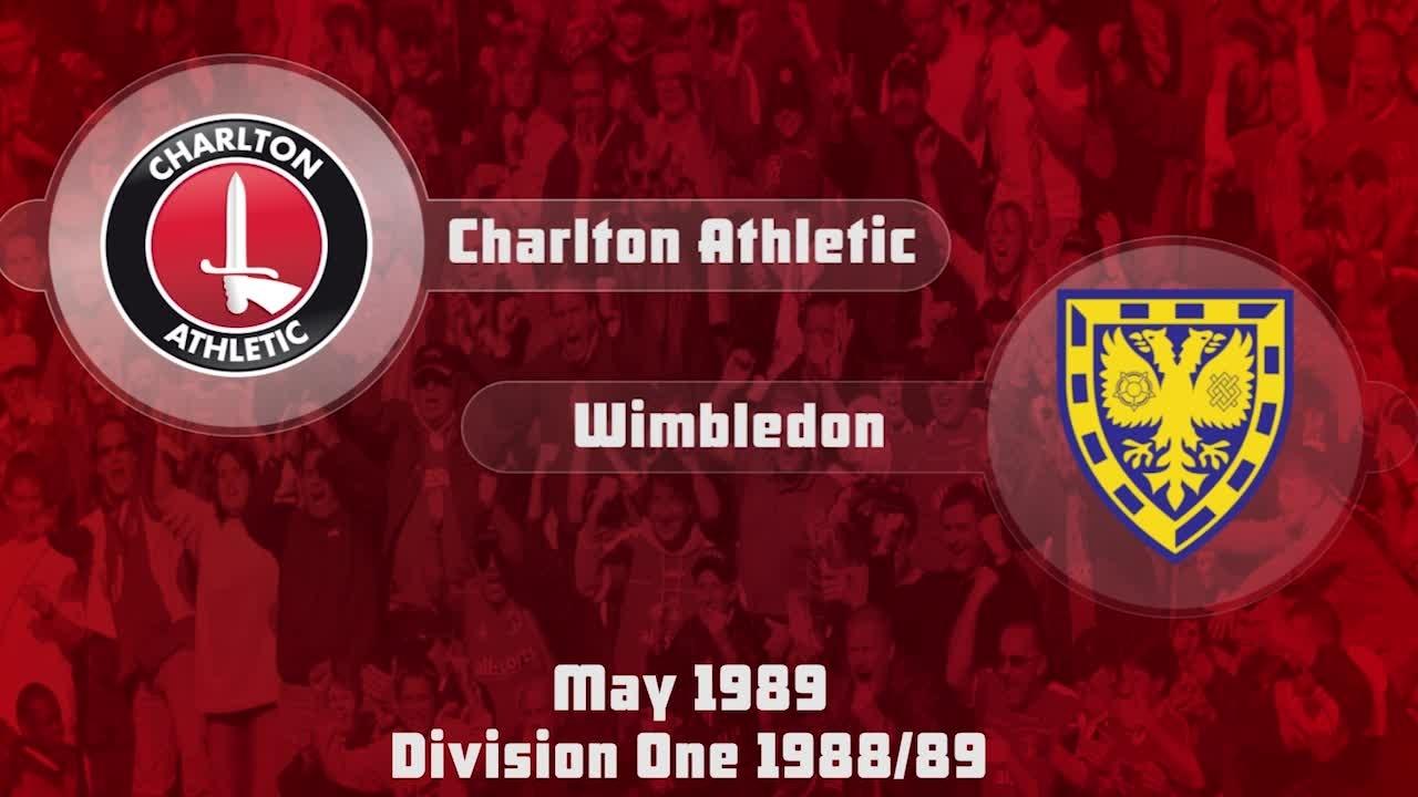 43 HIGHLIGHTS | Charlton 1 Wimbledon 0 (May 1989)