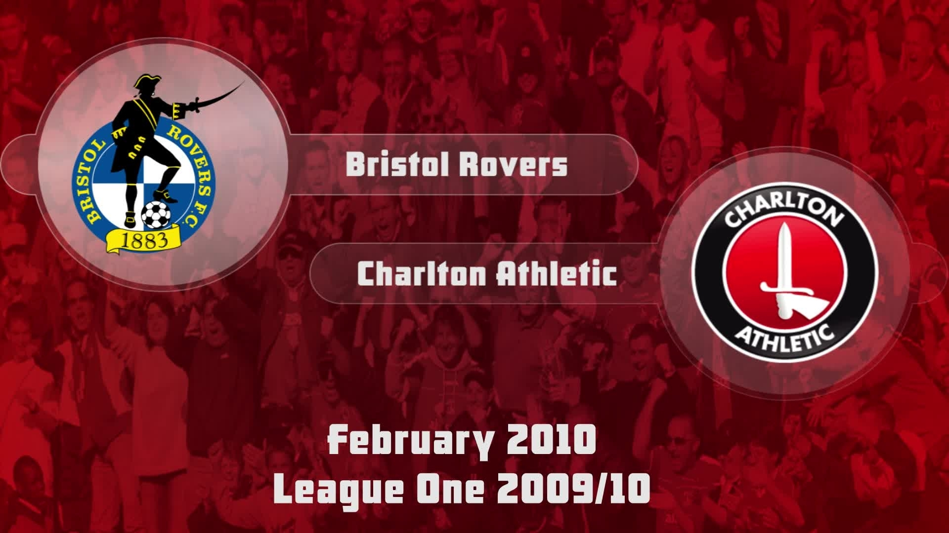 35 HIGHLIGHTS | Bristol Rovers 2 Charlton 1 (Feb 2010)
