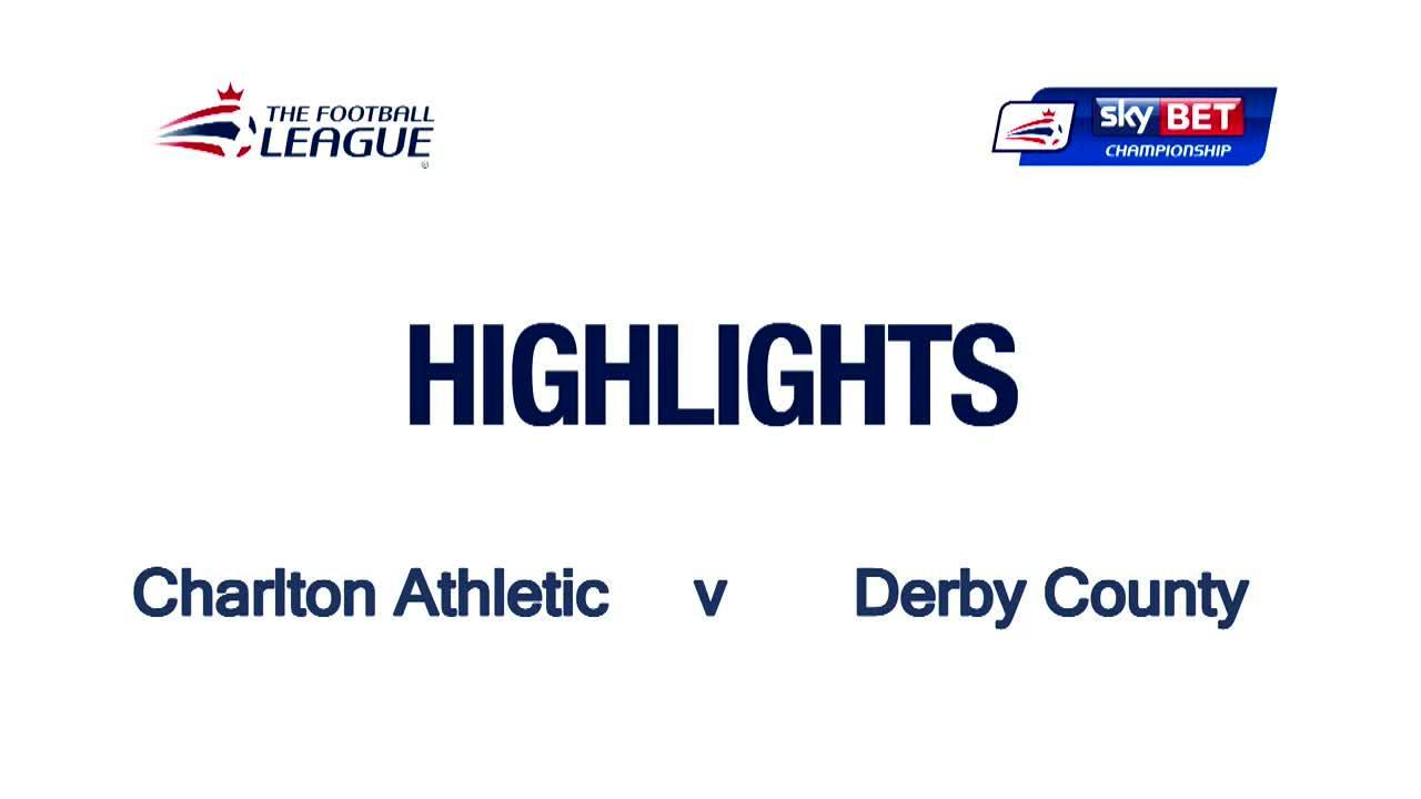 46 HIGHLIGHTS | Charlton 0 Derby County 1 (April 2016)