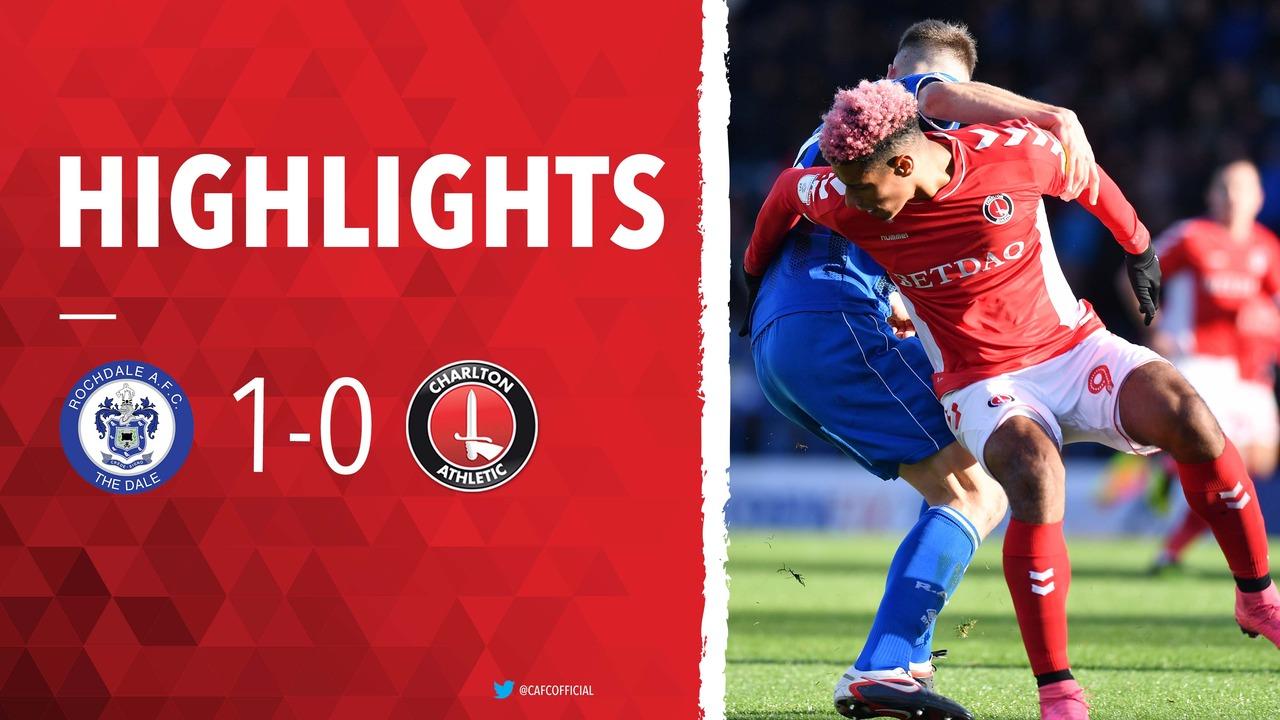 18 HIGHLIGHTS | Rochdale 1 Charlton 0 (October 2018)