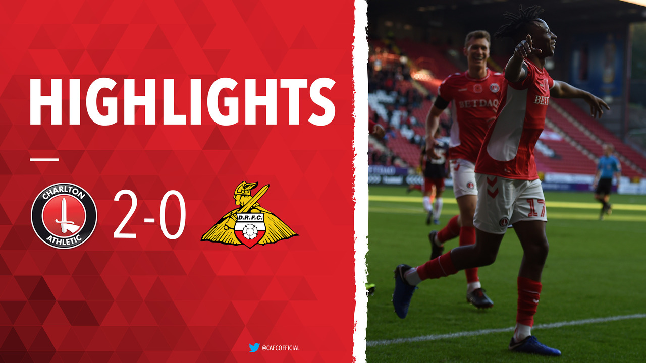 19 HIGHLIGHTS | Charlton 2 Doncaster Rovers 0 (November 2018)