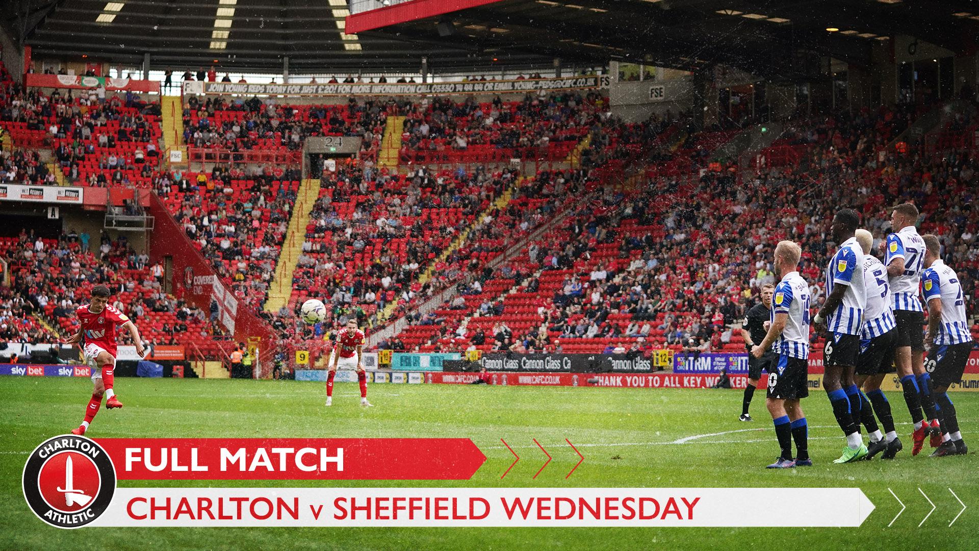 FULL GAME | Charlton 0 Sheffield Wednesday 0 (August 2021)