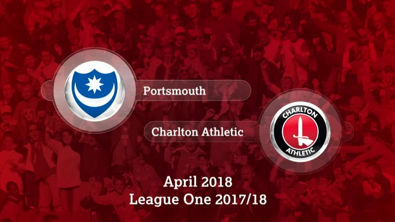 GOALS | Portsmouth 0 Charlton 1 (April 2018)