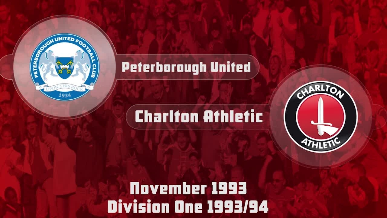 25 HIGHLIGHTS | Peterborough 0 Charlton 1 (Nov 1993)