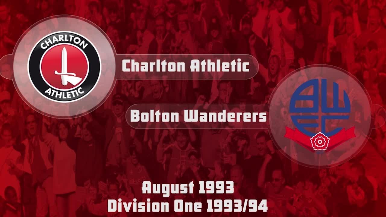 05 HIGHLIGHTS | Charlton 3 Bolton 0 (Aug 1993)