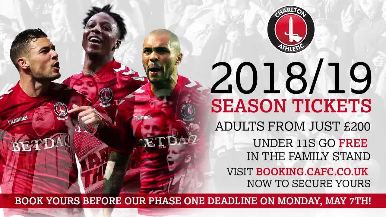 A guide to renewing your season ticket for 2018/19 online