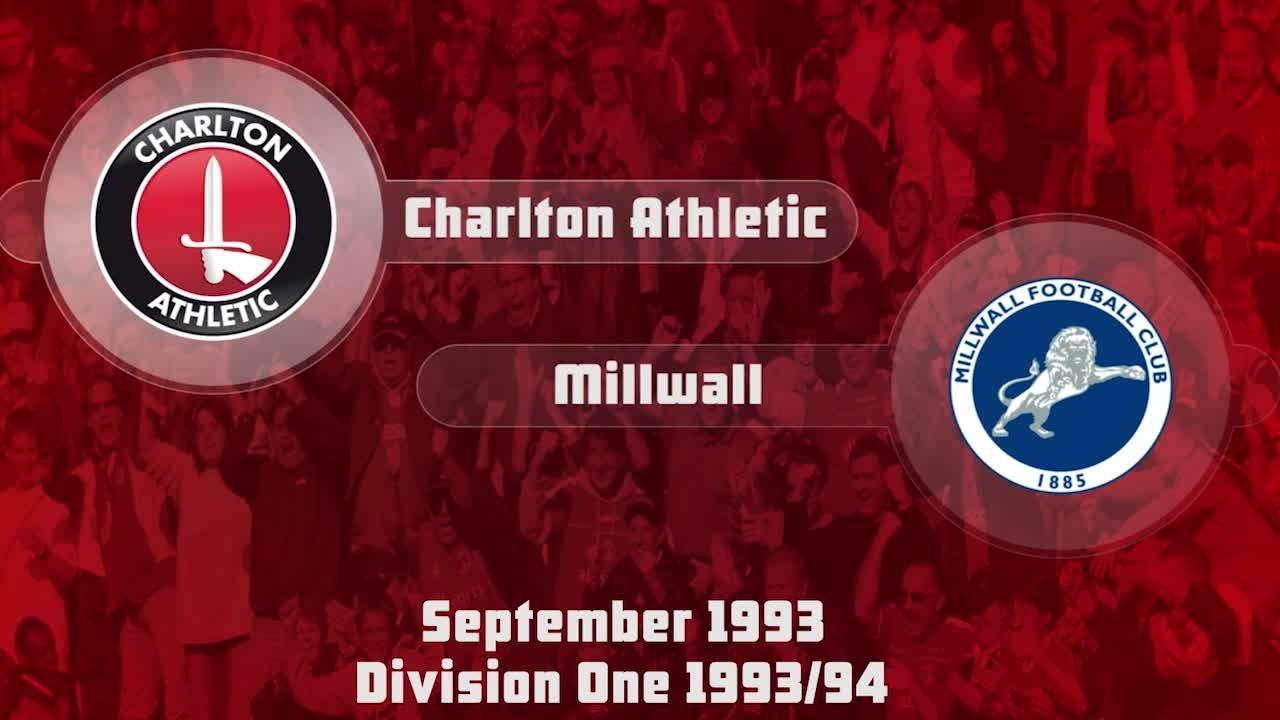 09 HIGHLIGHTS | Charlton 0 Millwall 0 (Sept 1993)