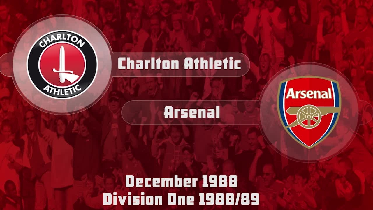 22 HIGHLIGHTS | Charlton 2 Arsenal 3 (Dec 1988)