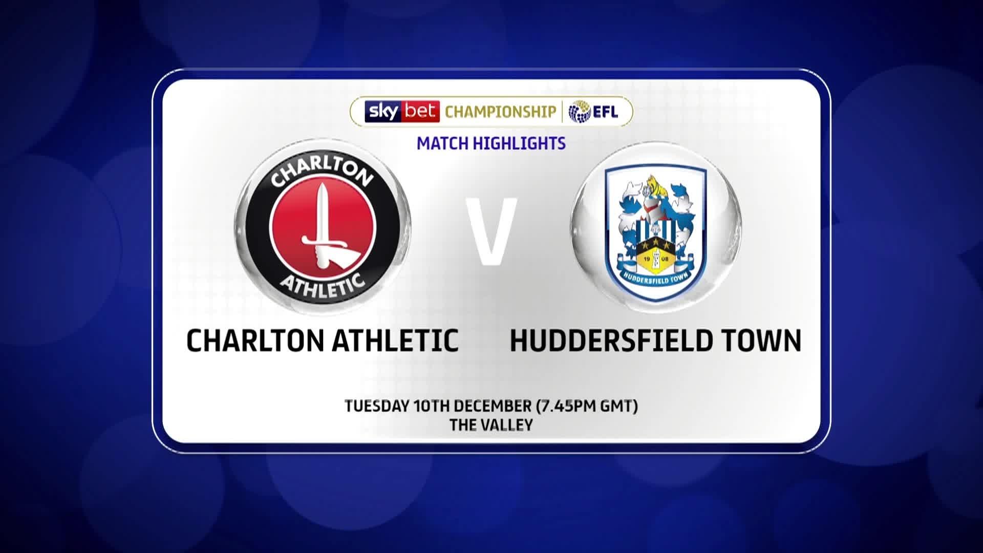 GOALS | Charlton 0 Huddersfield Town 1 (December 2019)