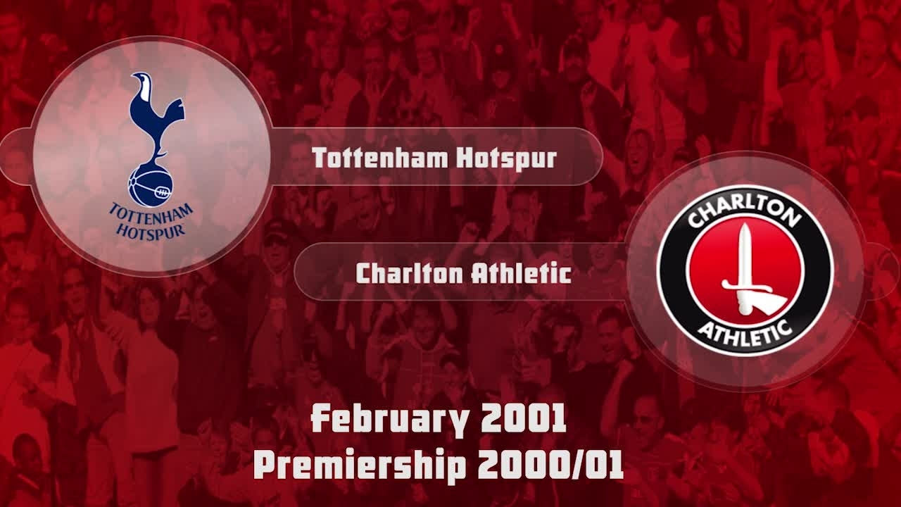 30 HIGHLIGHTS | Tottenham Hotspur 0 Charlton 0 (Feb 2001)