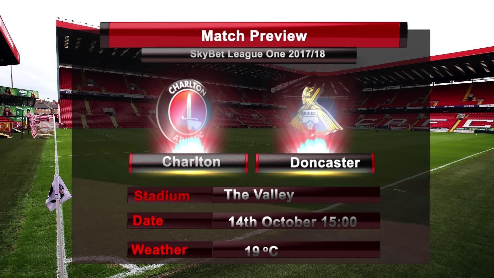 MATCH PREVIEW | Charlton vs Doncaster