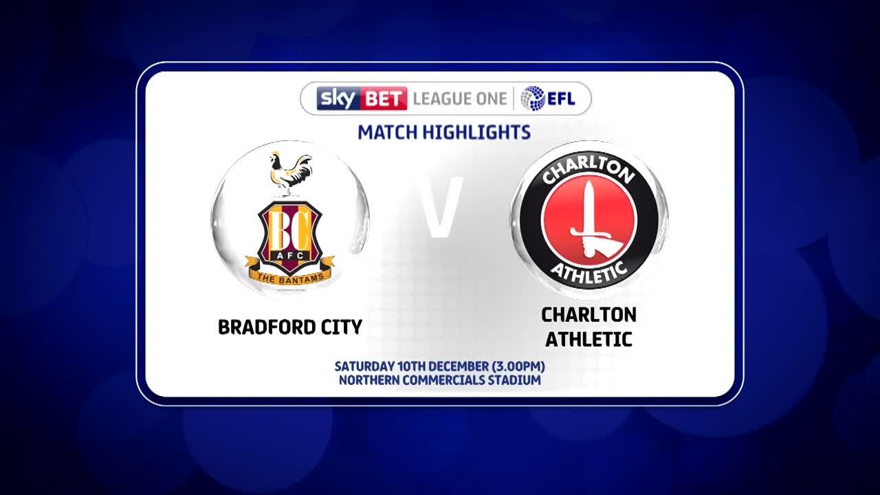 26 HIGHLIGHTS    Bradford 0 Charlton 0 ( Dec 2016)