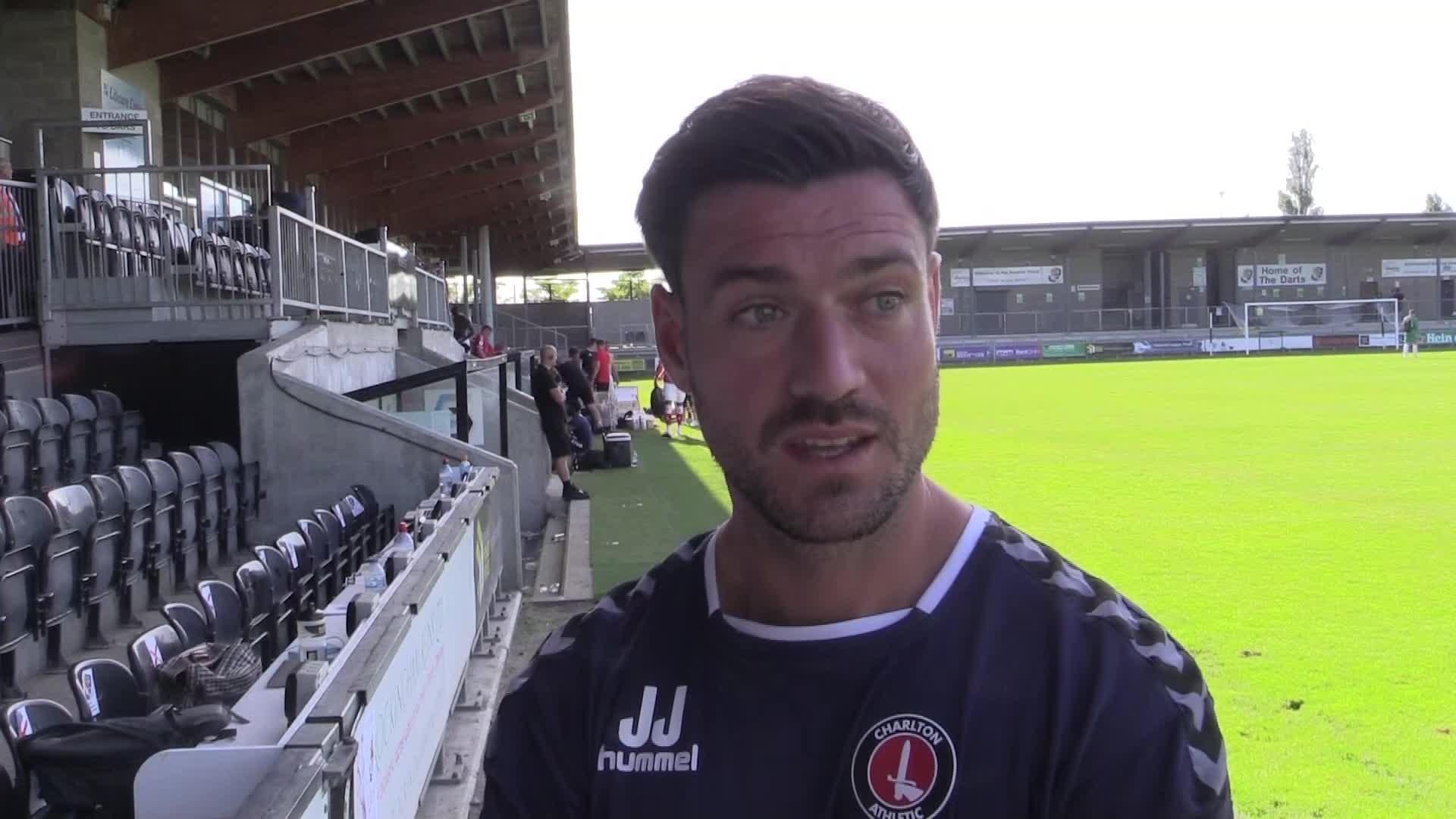 POST-MATCH | Johnnie Jackson speaks after Dartford friendly (July 2021)