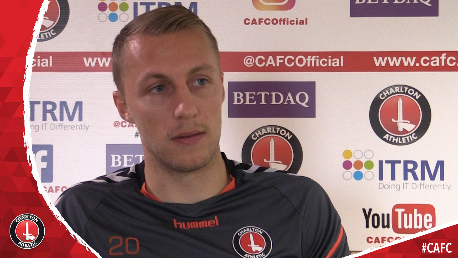 Chris Solly on coming through Charlton's academy with Scott Wagstaff