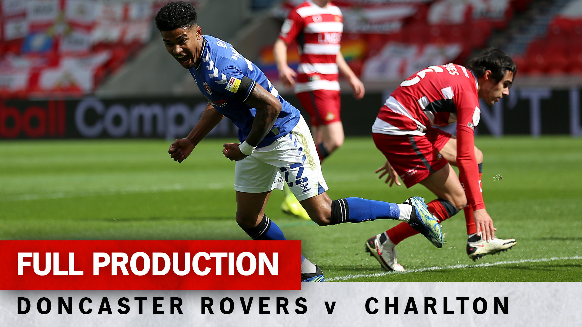 Charlton TV | Full broadcast - Doncaster Rovers (a) (April 2021)