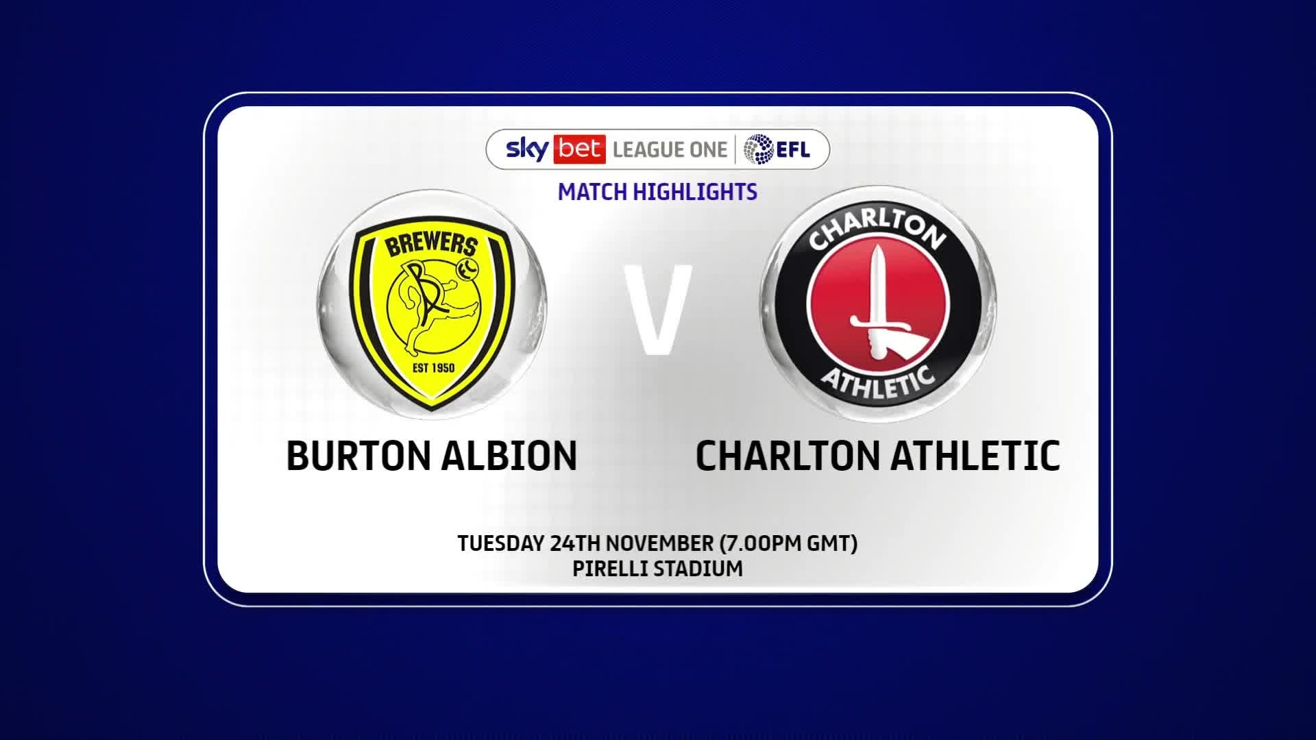 HIGHLIGHTS | Burton Albion 4 Charlton 2 (November 2020)
