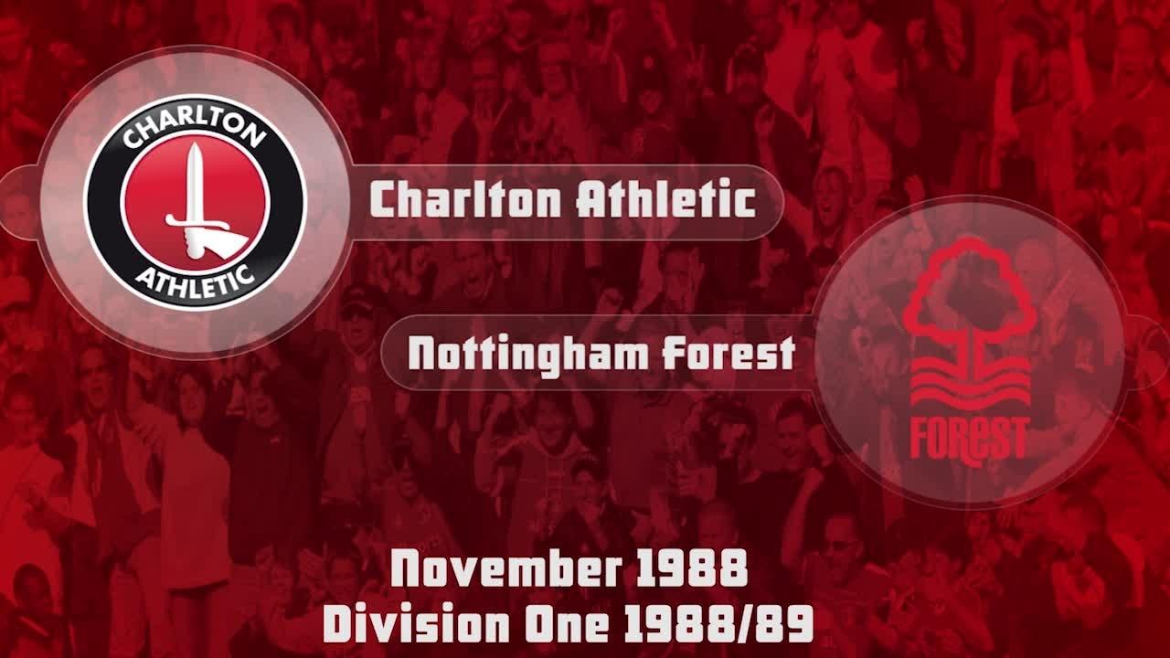 18 HIGHLIGHTS | Charlton 0 Nottingham Forest 1 (Nov 1988)