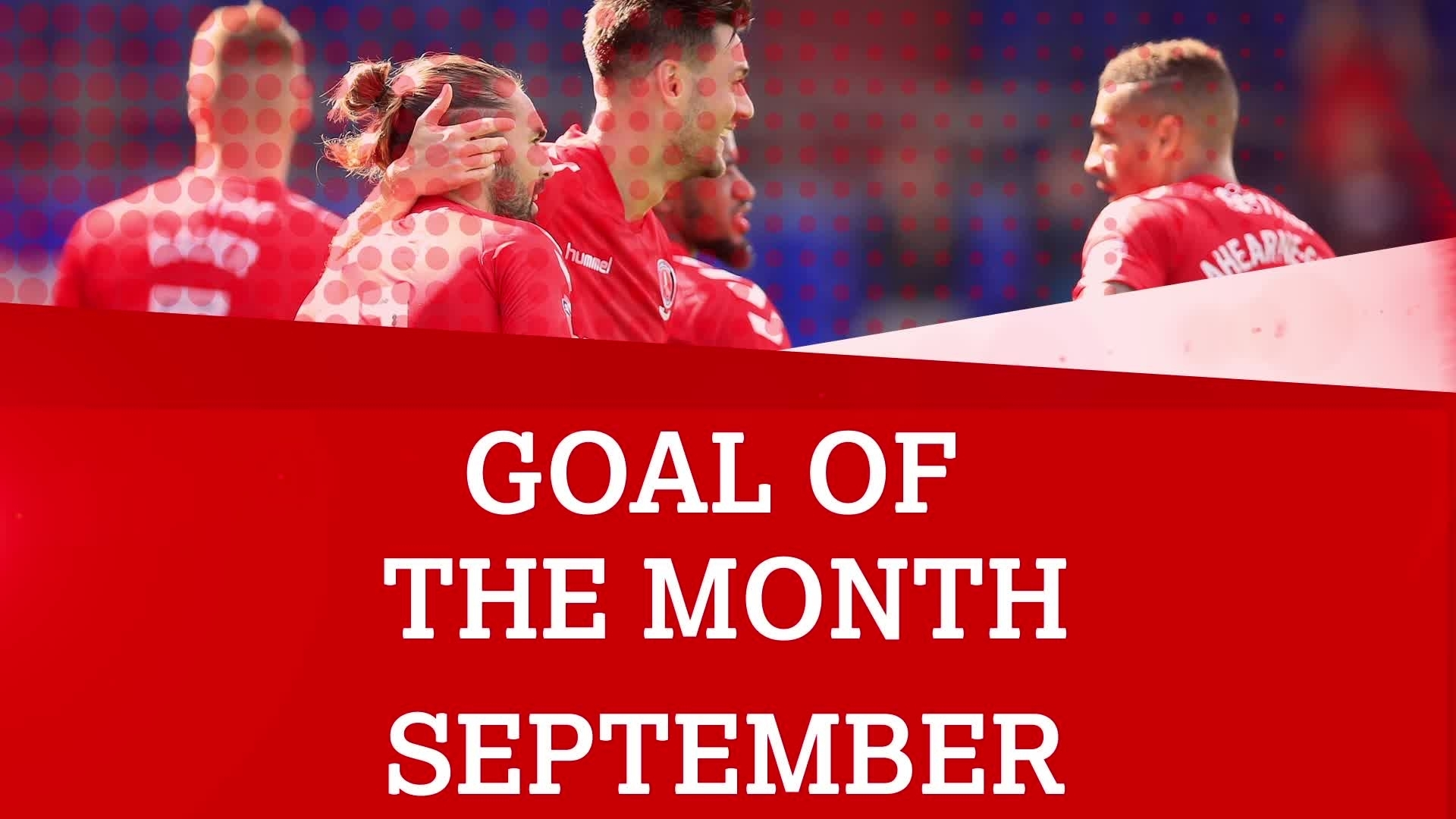 GOAL OF THE MONTH | September 2017
