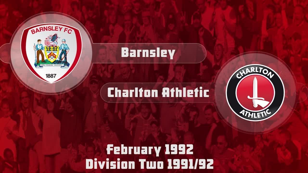 41 HIGHLIGHTS | Barnsley 1 Charlton 0 (Feb 1992)
