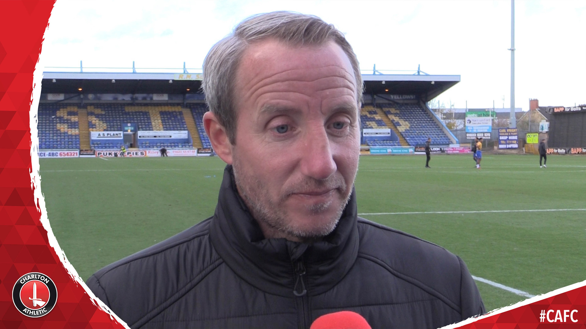 Lee Bowyer assesses Charlton's draw with Mansfield Town (November 2018)