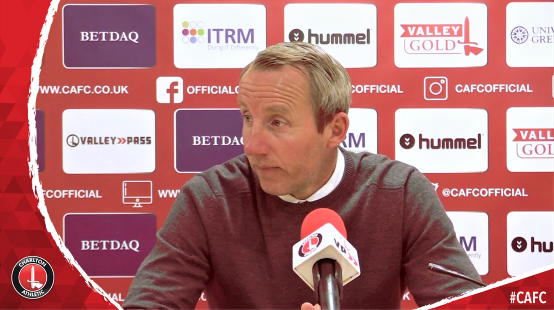 Bowyer on Charlton securing third spot in League One after thrashing Rochdale 4-0 (May 2019)