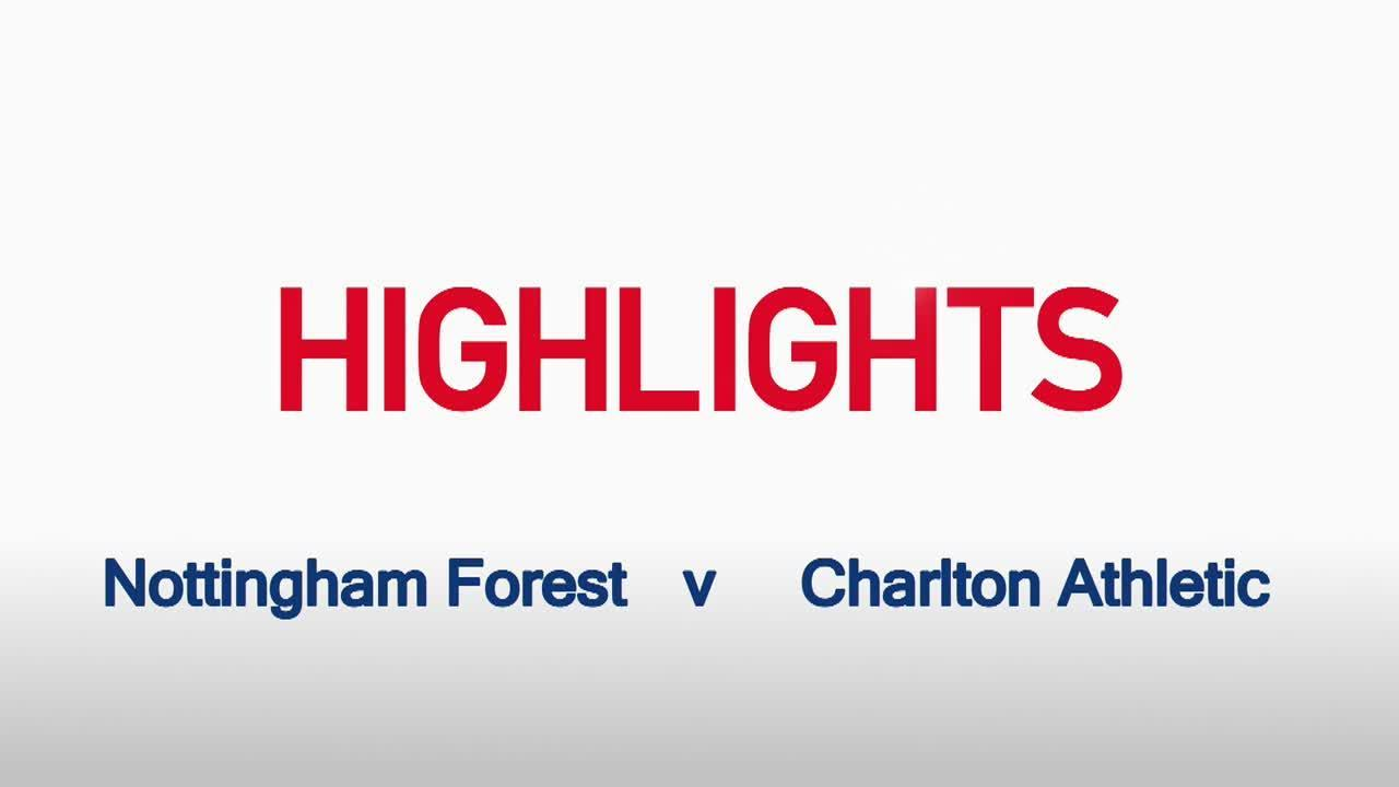 04 HIGHLIGHTS |  Nottingham Forest 0 Charlton 0 (Aug 2015)