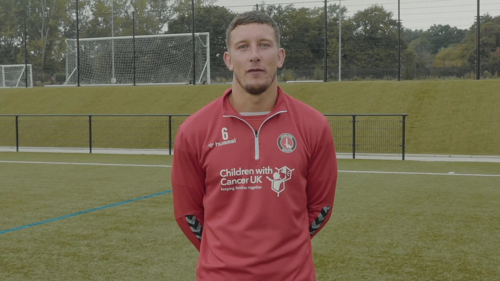 Virtual Young Reds - Jason Pearce training session