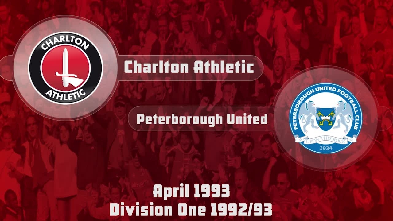 48 HIGHLIGHTS | Charlton 0 Peterborough 1 (April 1993)