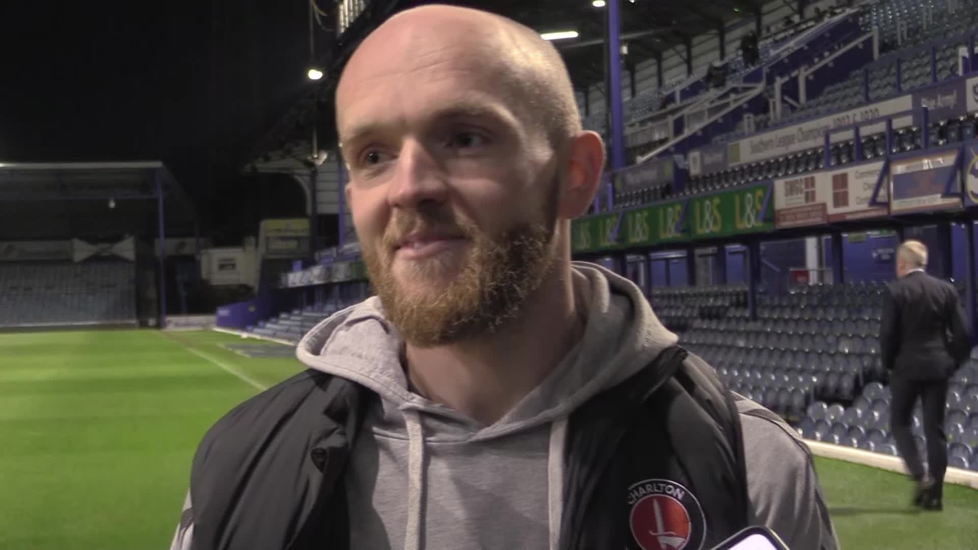Jonny Williams 'over the moon' after first Charlton goal (October 2020)