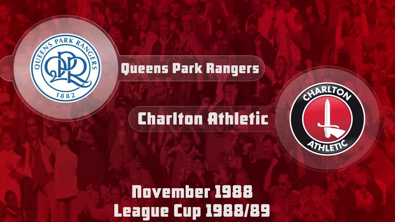 13 HIGHLIGHTS | QPR 2 Charlton 1 (League Cup Nov 1988)
