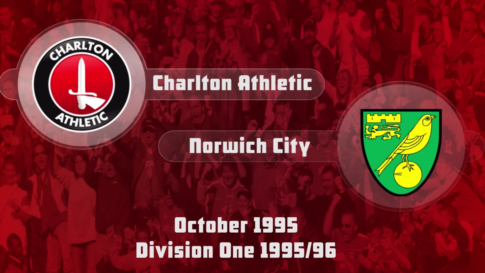 17 HIGHLIGHTS | Charlton 1 Norwich 1 (Oct 1995)