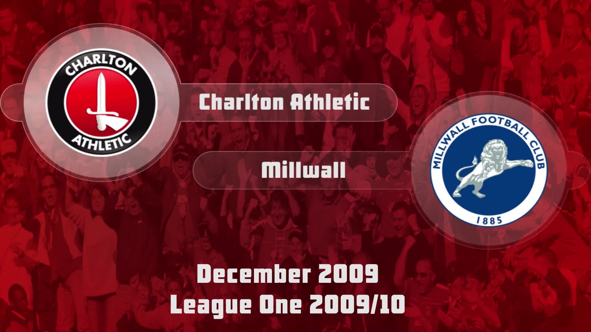 26 HIGHLIGHTS | Charlton 4 Millwall 4 (Dec 2009)
