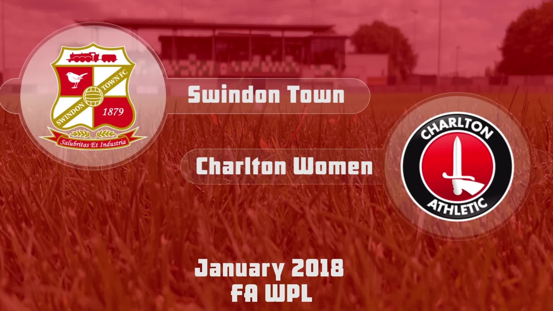 WOMEN'S HIGHLIGHTS | Swindon 0 Charlton 9 (Jan 2018)