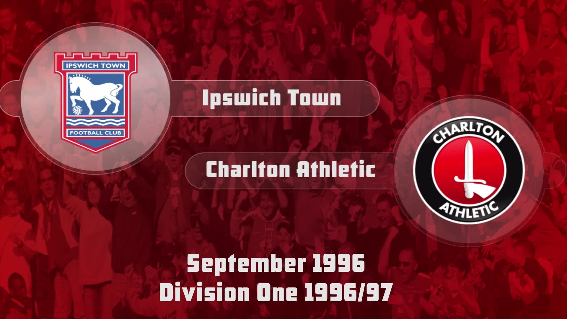 08 HIGHLIGHTS | Ipswich Town 2 Charlton 1 (Sept 1996)