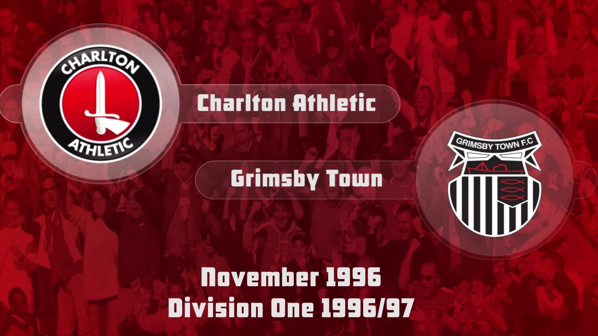 22 HIGHLIGHTS | Charlton 1 Grimsby 3 (Nov 1996)
