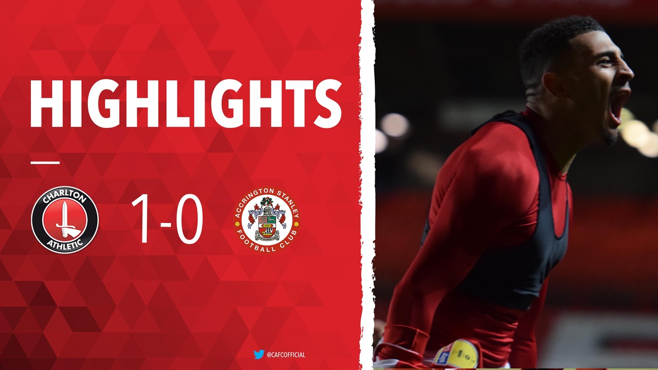 36 HIGHLIGHTS | Charlton 1 Accrington Stanley 0 (January 2019)