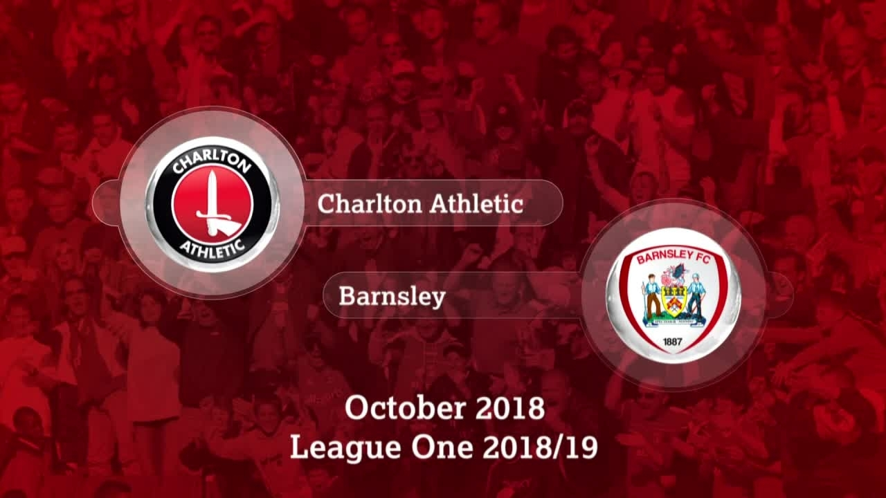 GOALS | Charlton 2 Barnsley 0 (October 2018)
