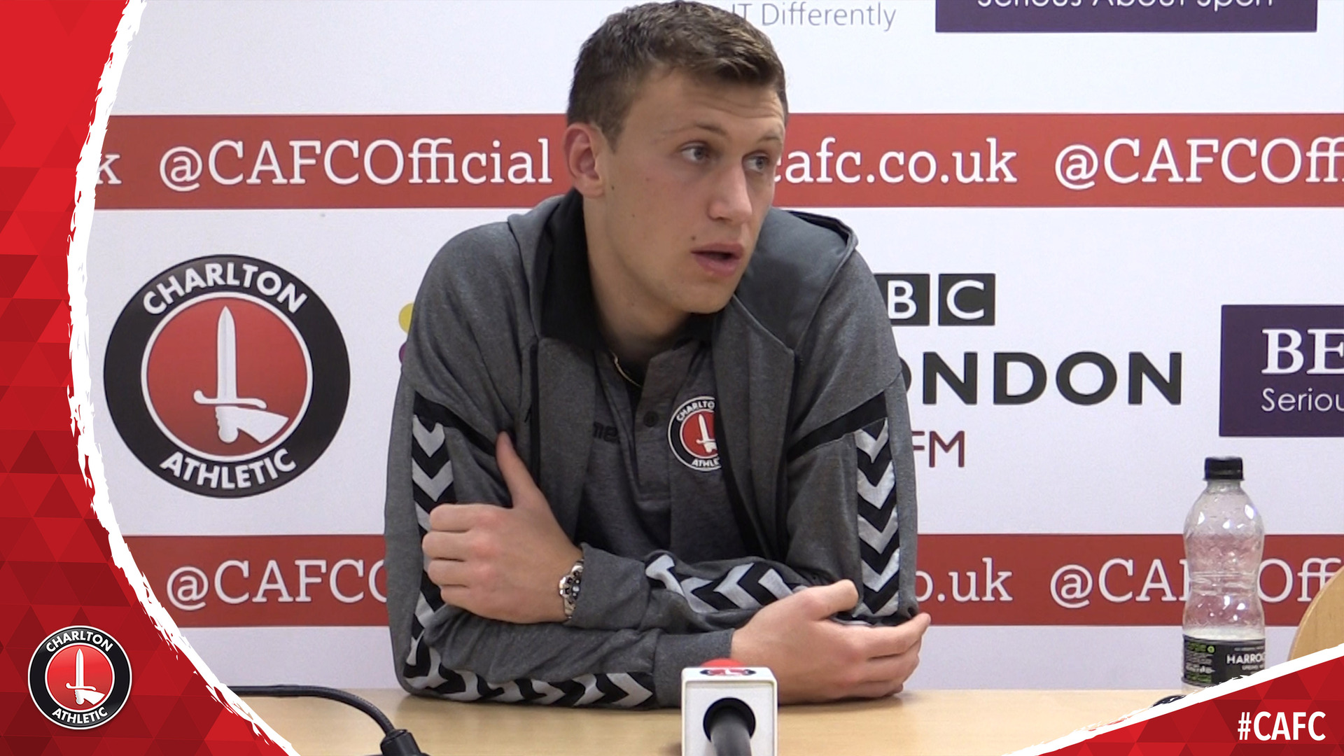 Arsenal loanee Krystian Bielik on Charlton's win over Doncaster Rovers
