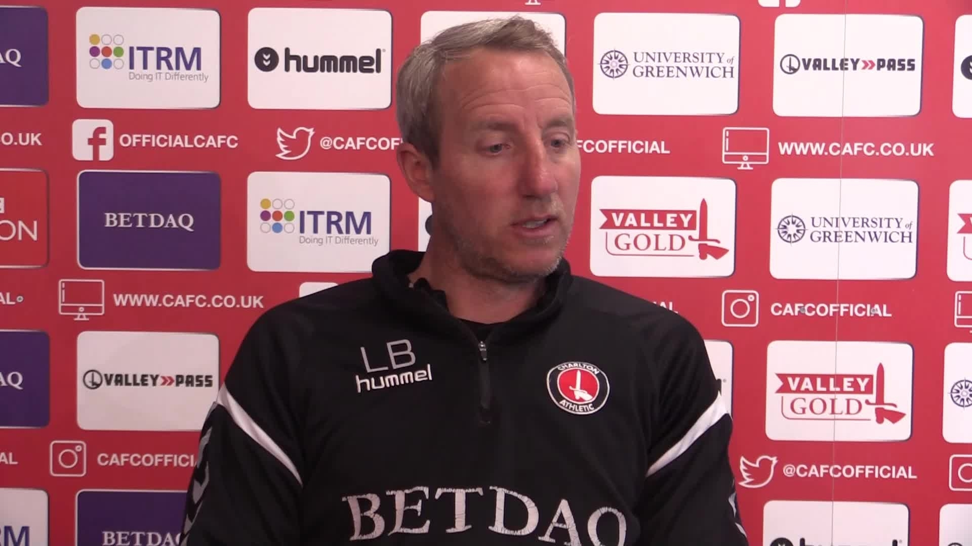 Lee Bowyer's pre-Oxford press conference (April 2019)