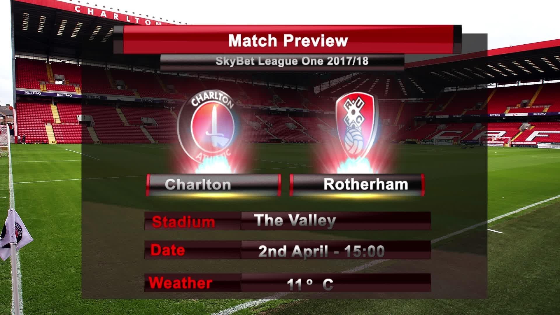 MATCH PREVIEW | Charlton vs Rotherham