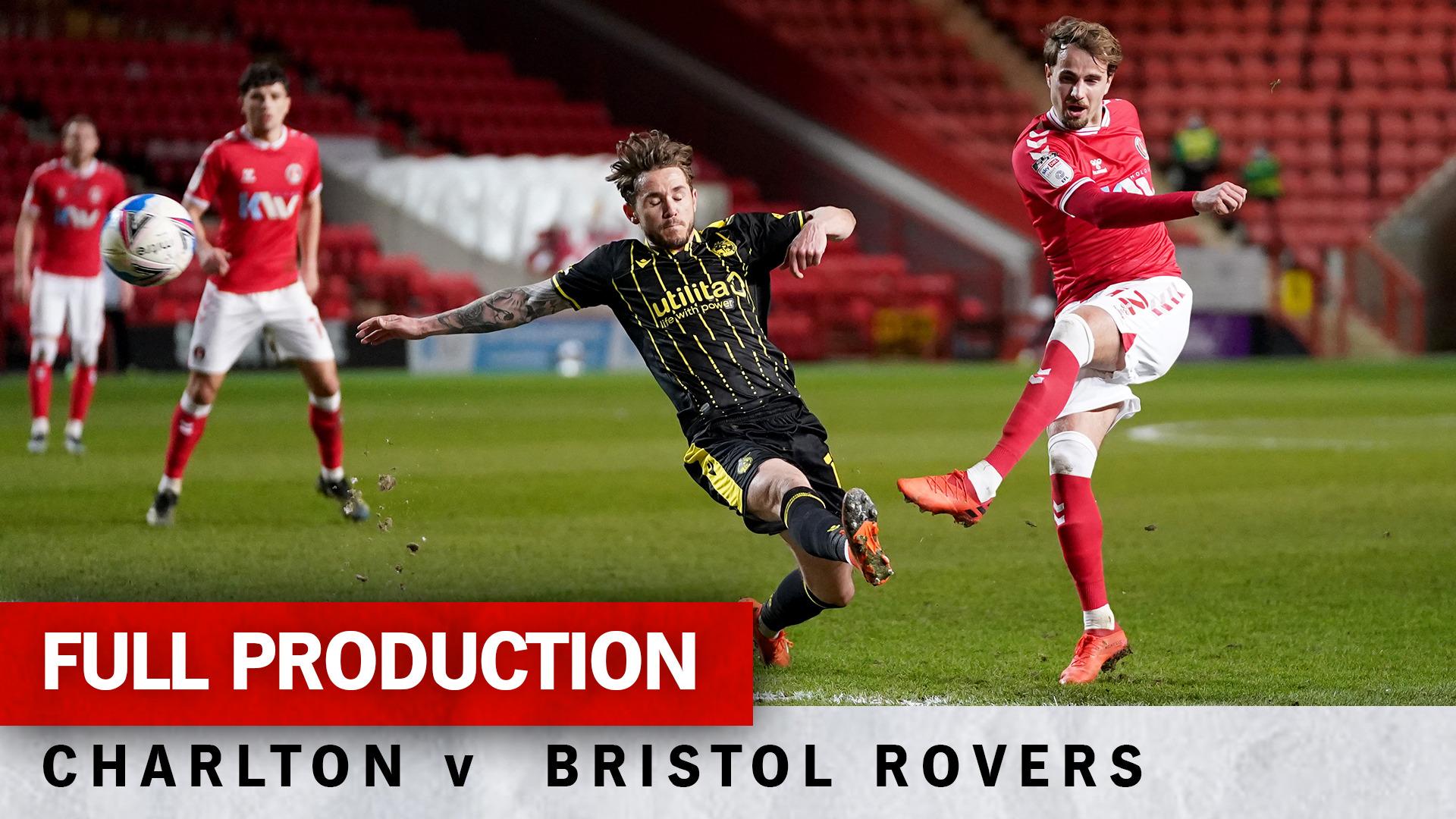 Charlton TV | Full broadcast - Bristol Rovers (h) (March 2021)