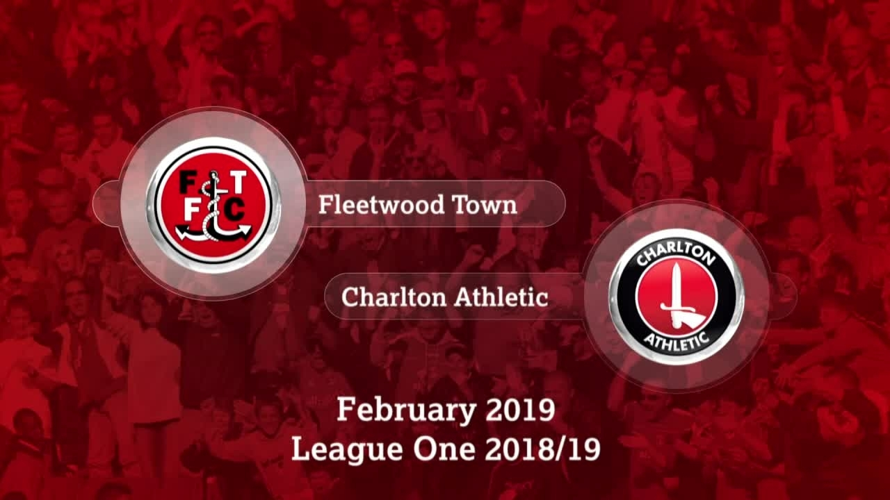 GOALS | Fleetwood Town 1 Charlton 0 (February 2019)
